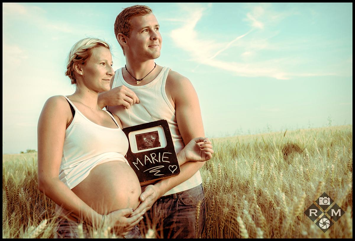 Babybauch-Schwangerschaft